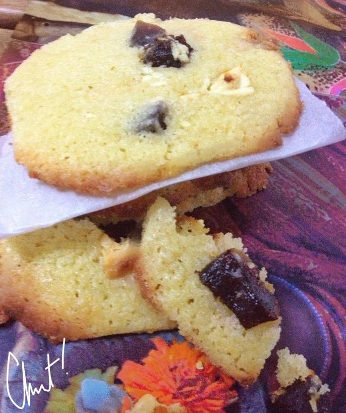 Cookies Chocolat Blanc Papaye